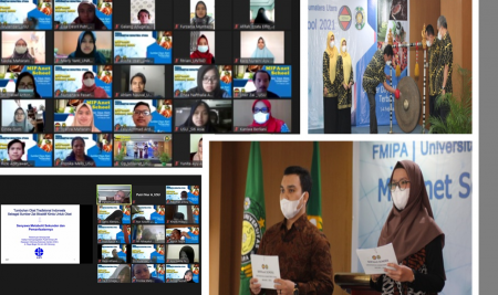 Lima Mahasiswa Bioteknologi FMIPA UM Mengikuti MIPANET SCHOOL Universitas Sumatera Utara
